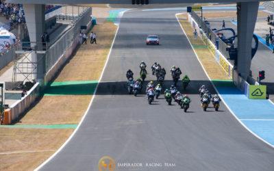 Difícil domingo el que ha tenido Emperador Racing, que deja Jerez sin que finalicen la carrera sus pilotos